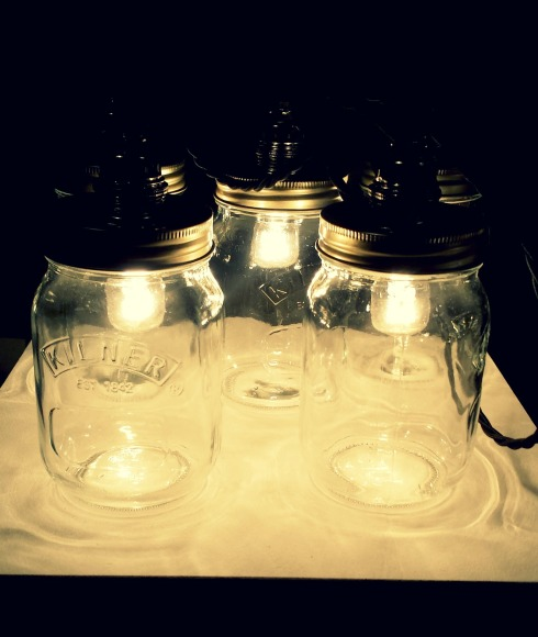 Funky Kilner Jar Lighting
