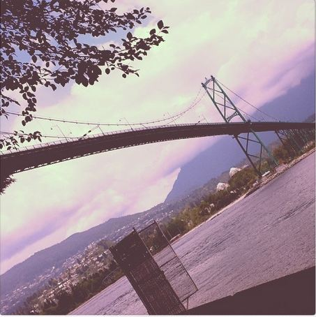 Lionsgate Bridge from the Seawall | Vancouver, BC | Canada