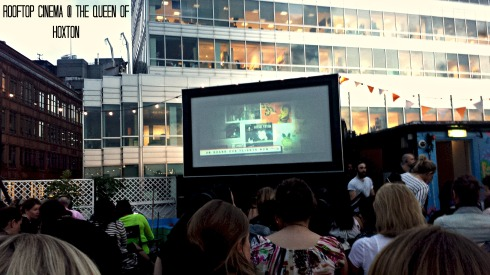 Rooftop Cinema at the Queen of Hoxton | London