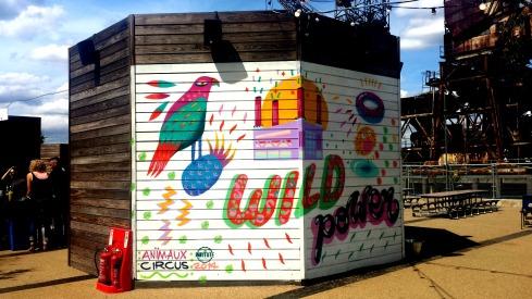 Graffiti art at the Street Feast