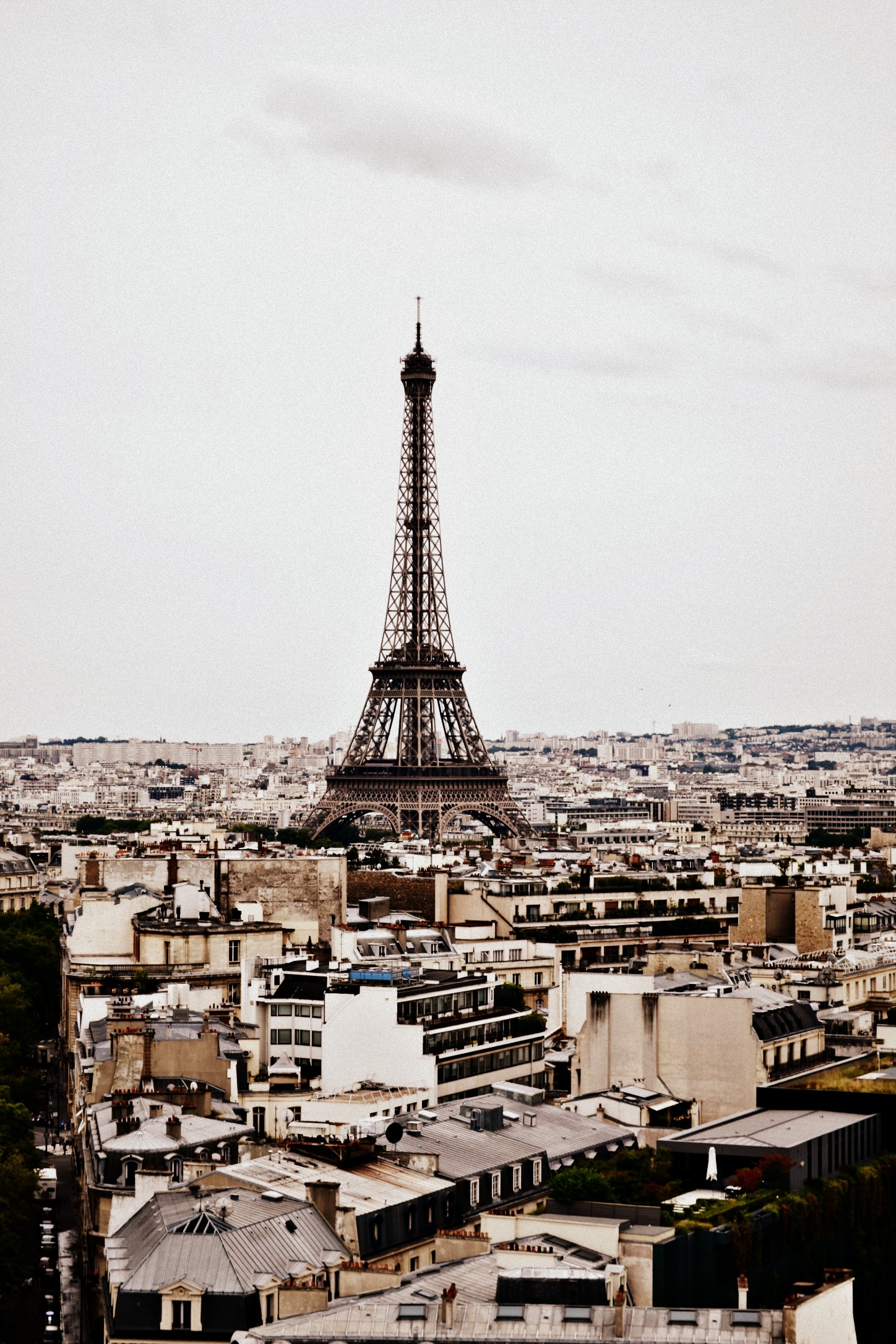 The Eiffel Tower itself